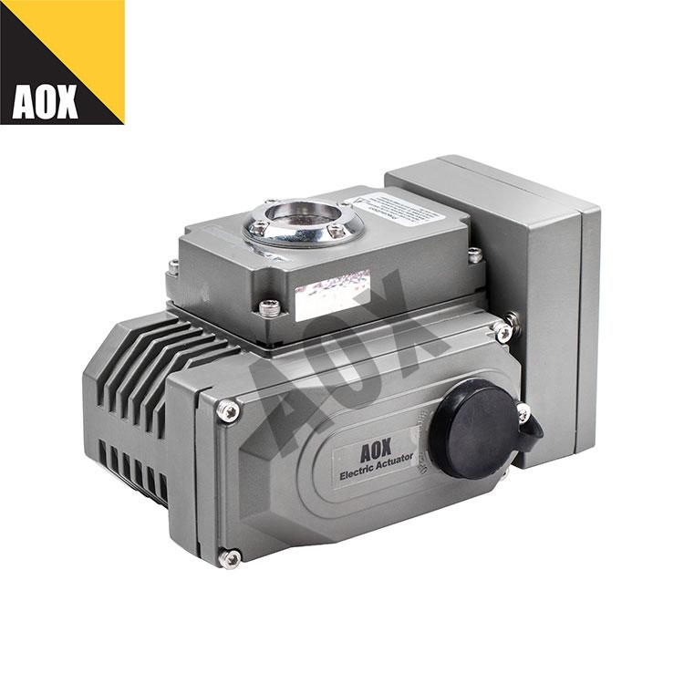 Modulating quarter turn electric actuator