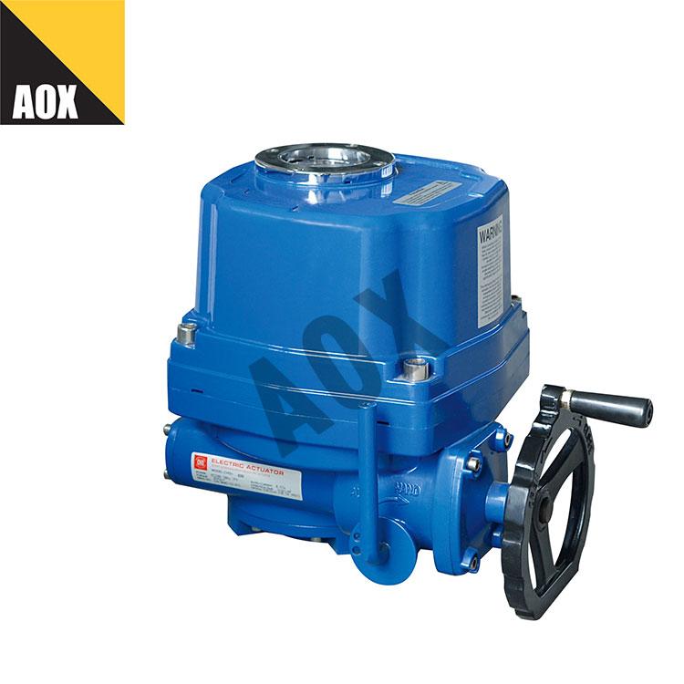 Quarter turn actuator with torque switch