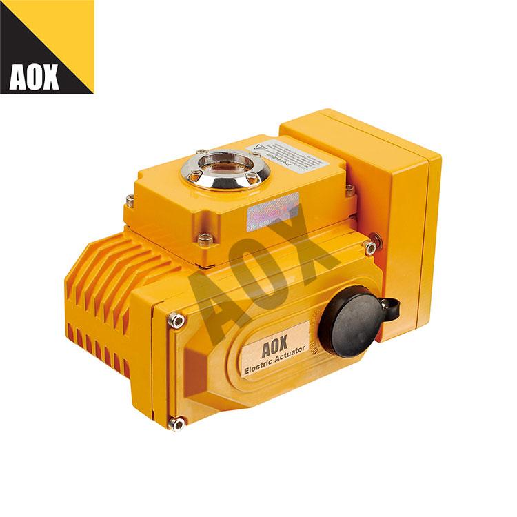 Remote control motorized actuator
