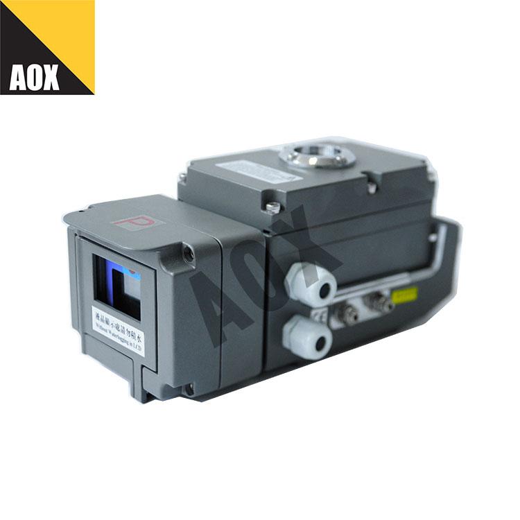 Local control electric actuator