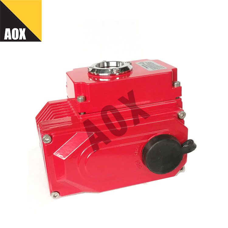 Small rotary electric actuator