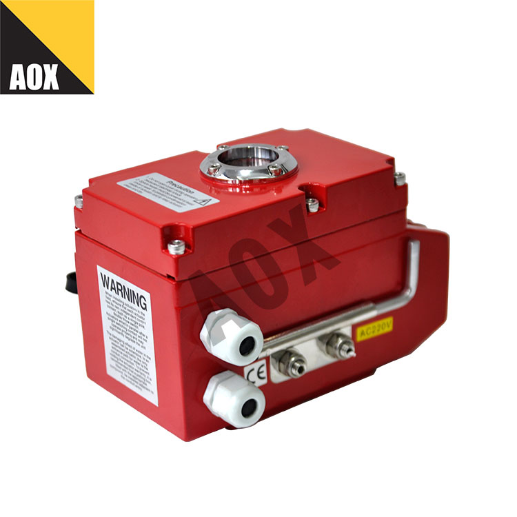Mini rotary electric actuator