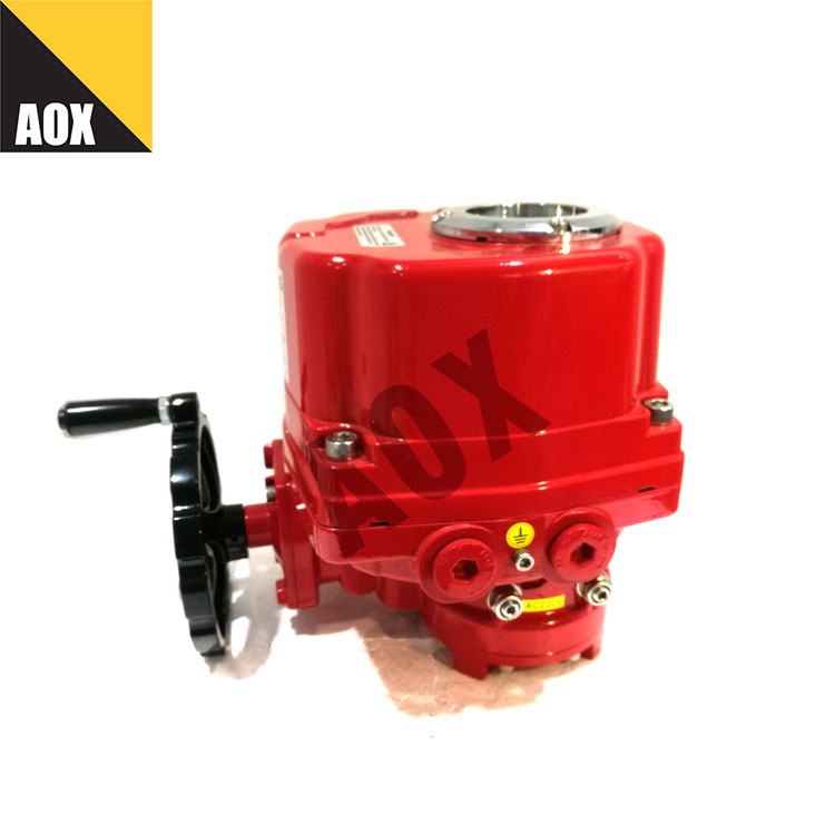 Water proof rotary electric actuator