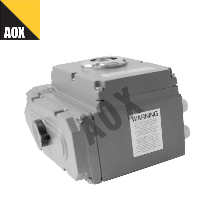 Compact rotary electric actuator