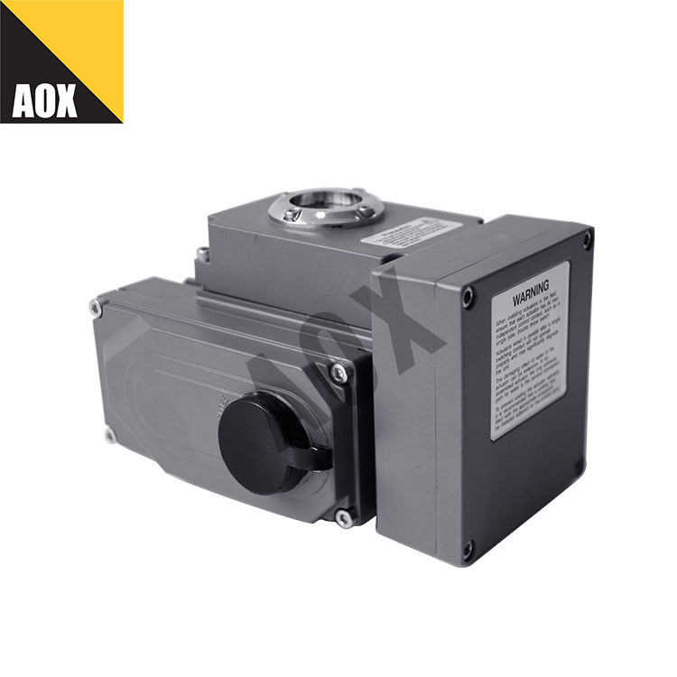 Remote control rotary electric actuator