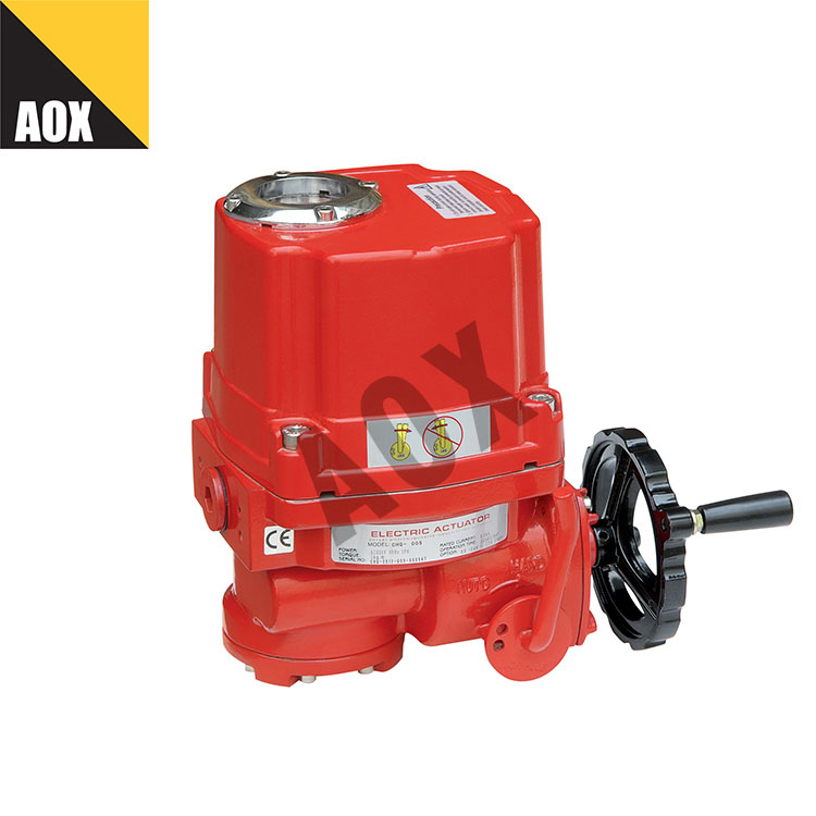 Rotary electric actuator with handwheel