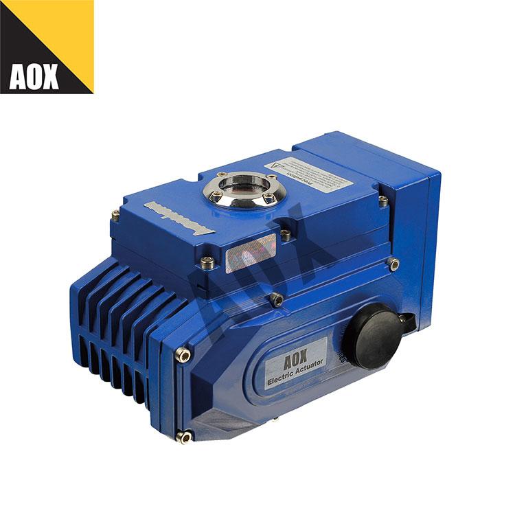Smart motorized rotary actuator