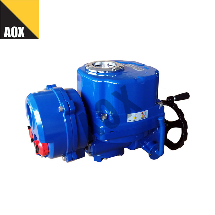 Local remote control rotary electric actuator