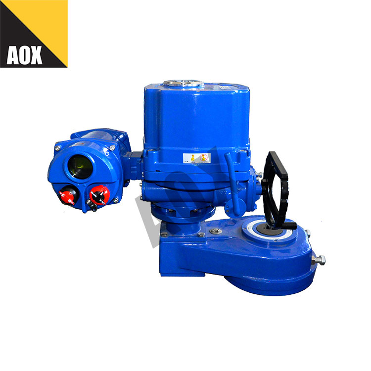 Remote control motorized rotary actuator