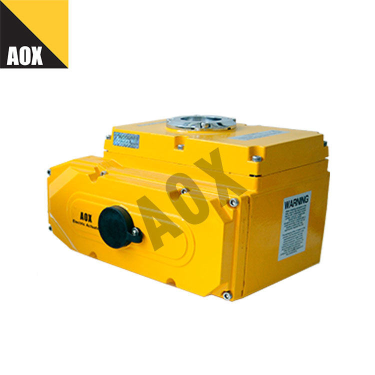 Water proof motorized rotary actuator