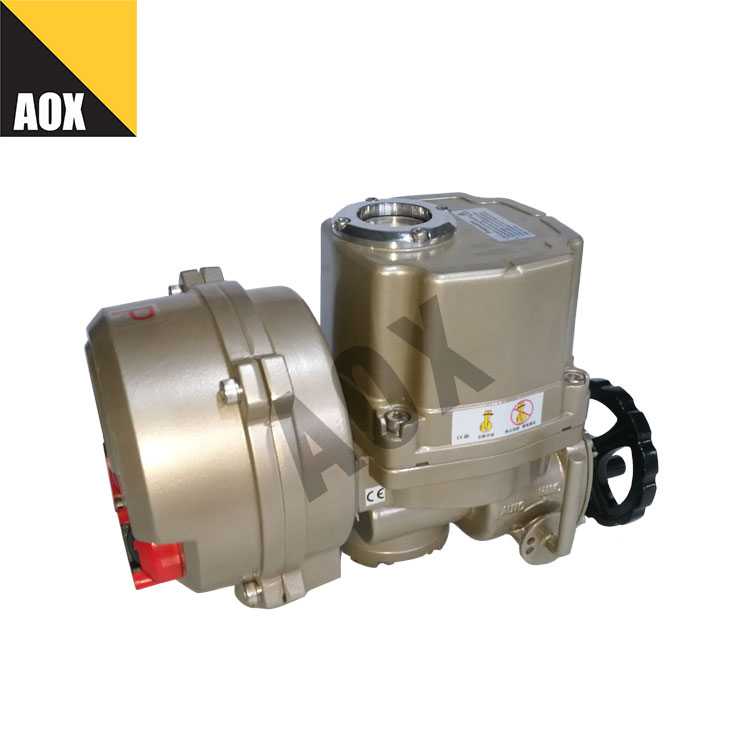 Local remote control rotary motorized actutaor