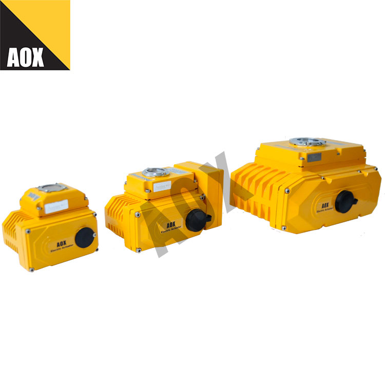 Fast rotary electric actuator