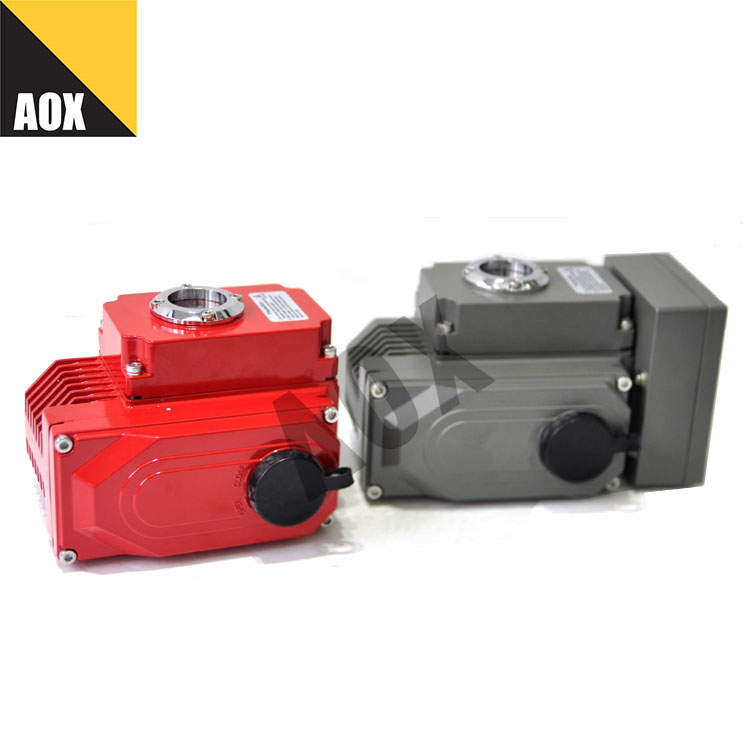 Smart rotary electric actuator