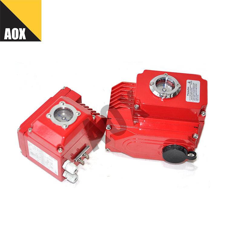 Mini part turn electric actuator