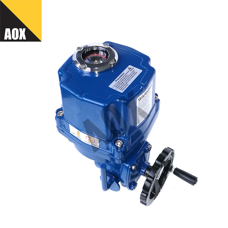 Part turn electric actuator with torque switch