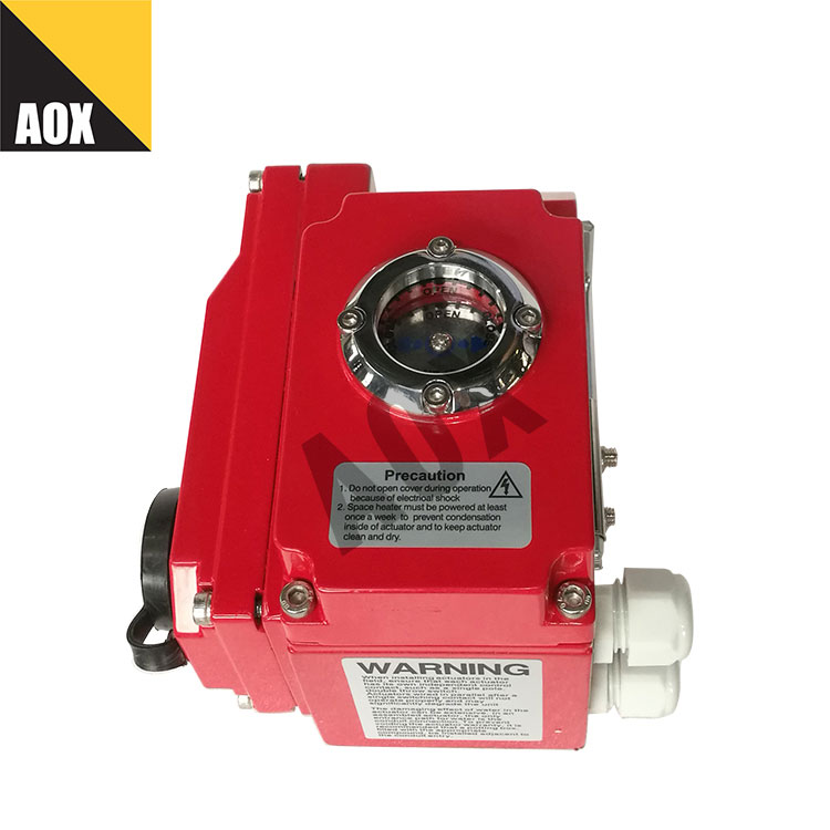 Open close duty part turn electric actuator