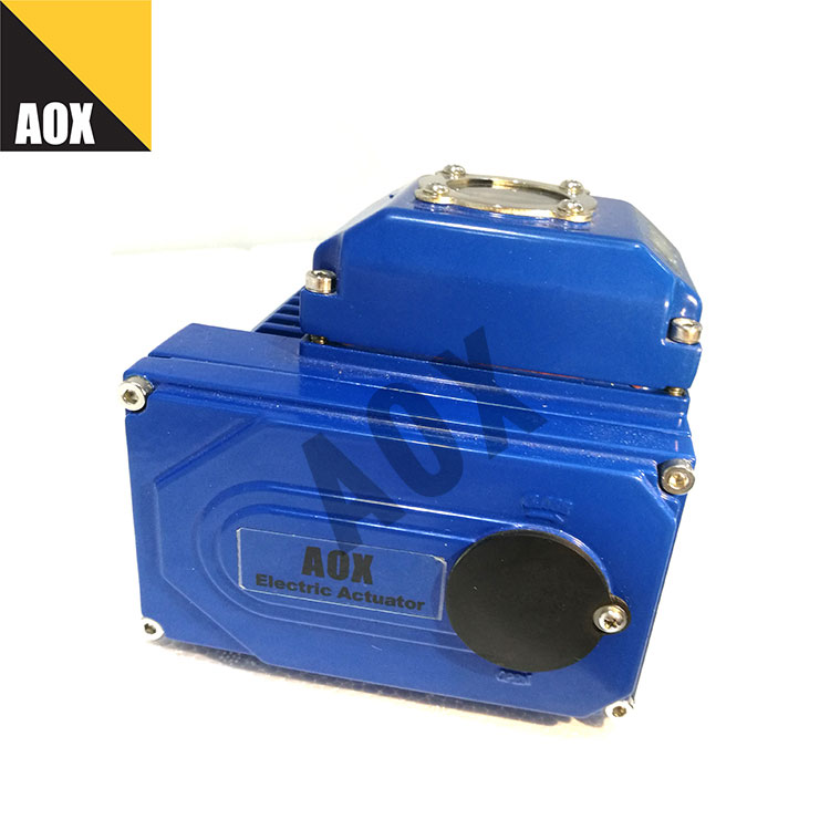 Compact motorized part turn actuator