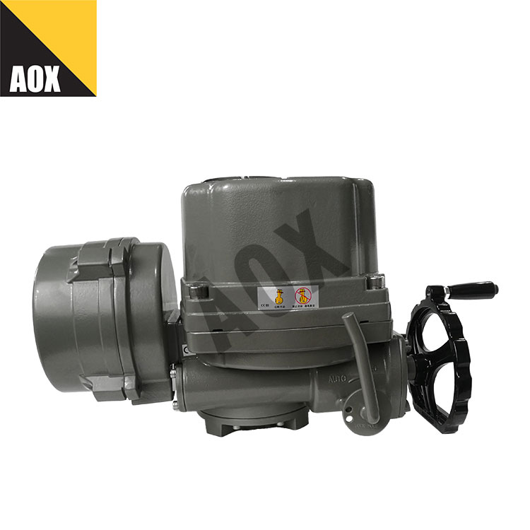 Explosion proof motorized part turn actuator