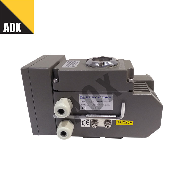 High speed part turn electric actuator