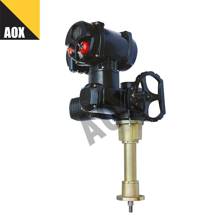 Intelligent motorized multi turn actuator