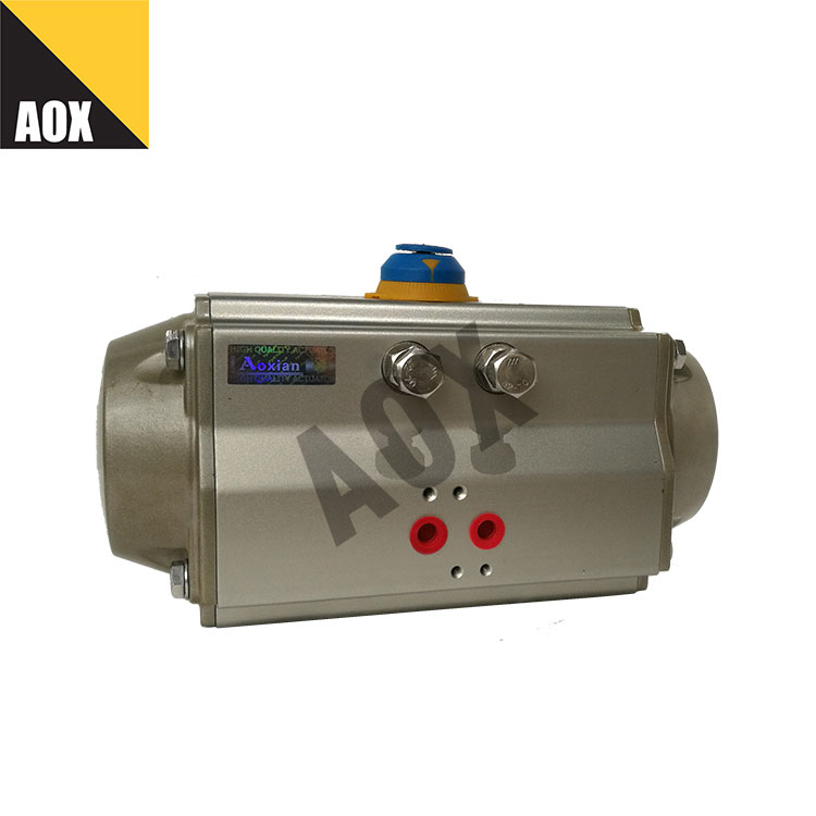 Industrial single acting pneumatic actuator
