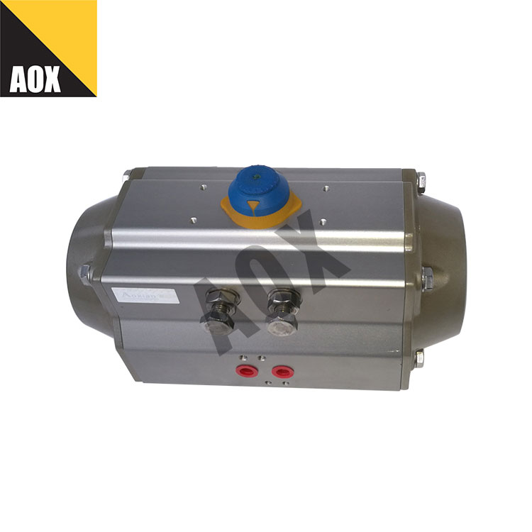 High speed single acting pneumatic actuator