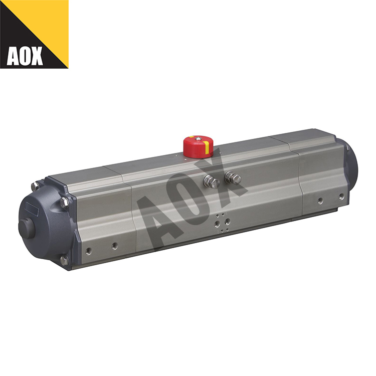 Small double acting pneumatic actuator